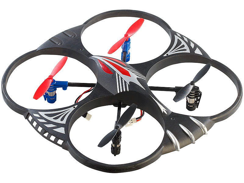 Simulus 4-Kanal-Quadrocopter GH-4L, 360°-Flip-Funktion (refurbished)
