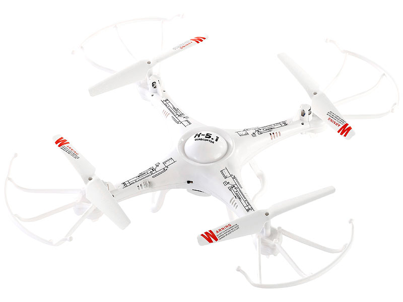 Simulus 4-CH-Quadrocopter GH-4.HD-CAM mit HD-Kamera (refurbished)