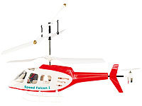 "Simulus 3-Kanal Mini-Hubschrauber ""Speed Falcon II"" im 3er-Action-Set"